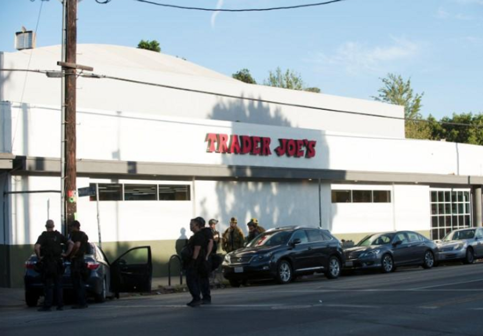 Woman killed in Los Angeles store hostage standoff shot by police officer