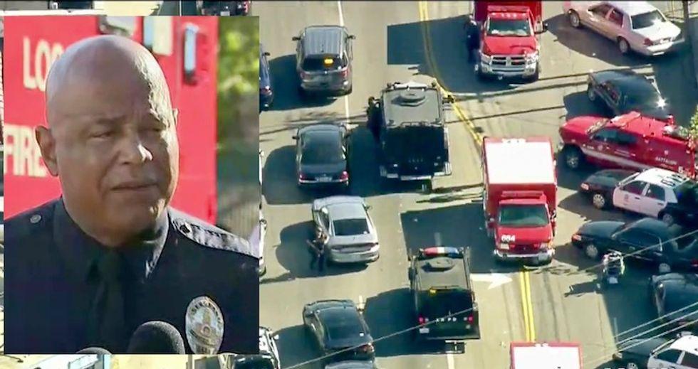 Live coverage: Active shooter at Los Angeles Trader Joe's