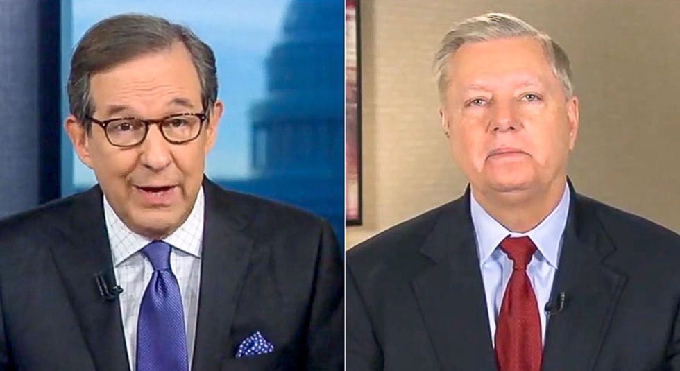 Chris Wallace grills Lindsey Graham over rigged Senate trial: 'This is just a rush to get this over'