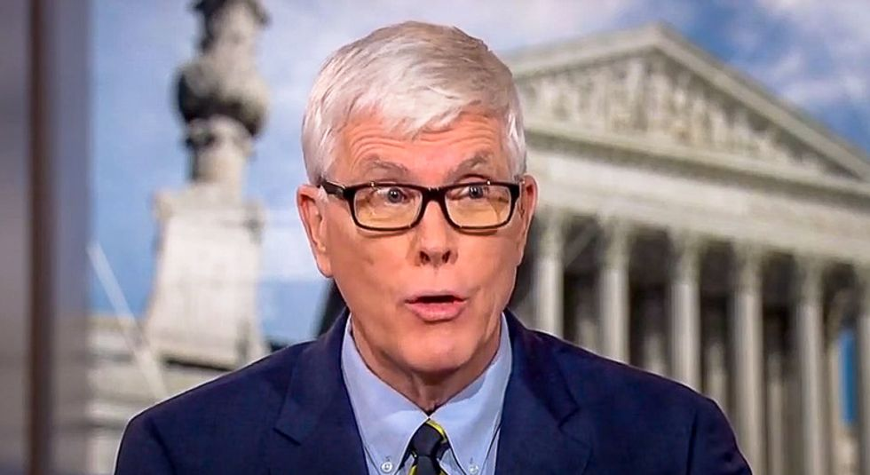 Hugh Hewitt gets stomped after pledging 'chaos' vote for Bernie Sanders: 'He's as partisan as they come'