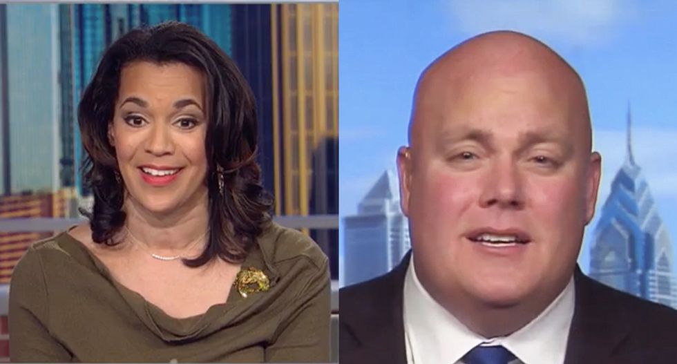 CNN's Fredricka Whitfield flattens Trump apologist for hilariously bad defense of the president