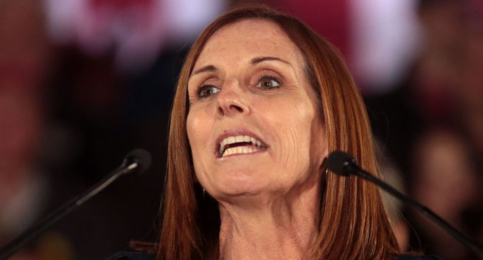 Senator Martha McSally annihilated by her voters in reviews for her Senate offices