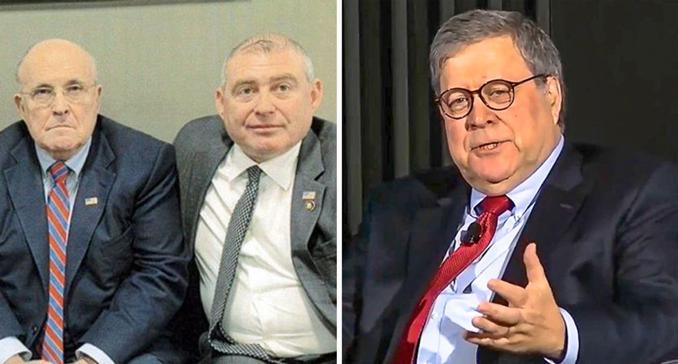 Lev Parnas shouldn't be the 'fall guy' for Giuliani: ex-GOP congressman urges special counsel investigation of AG Barr