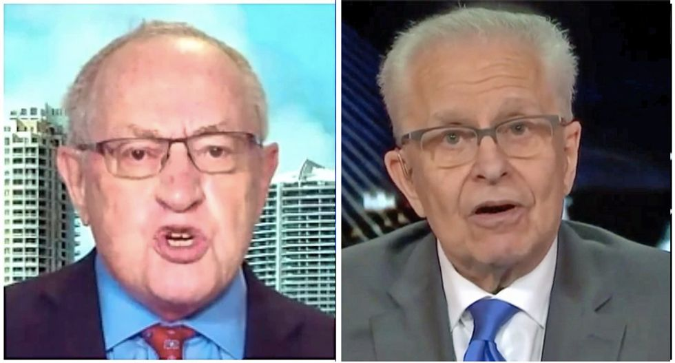 Constitutional law expert Laurence Tribe dunks on Alan Dershowitz defending Trump as legally indefensible