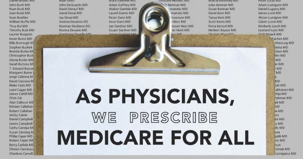 Second largest physicians group in US has new prescription: It's Medicare for All
