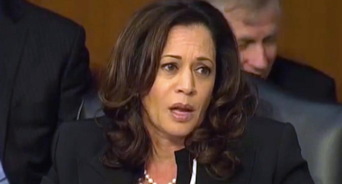 Sen. Tim Scott set a trap — then both Joe Biden and Kamala Harris fell into it