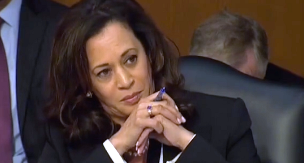 GOP panel chairman scolds Kamala Harris about 'courtesy' after she grills deputy AG on Russia probe