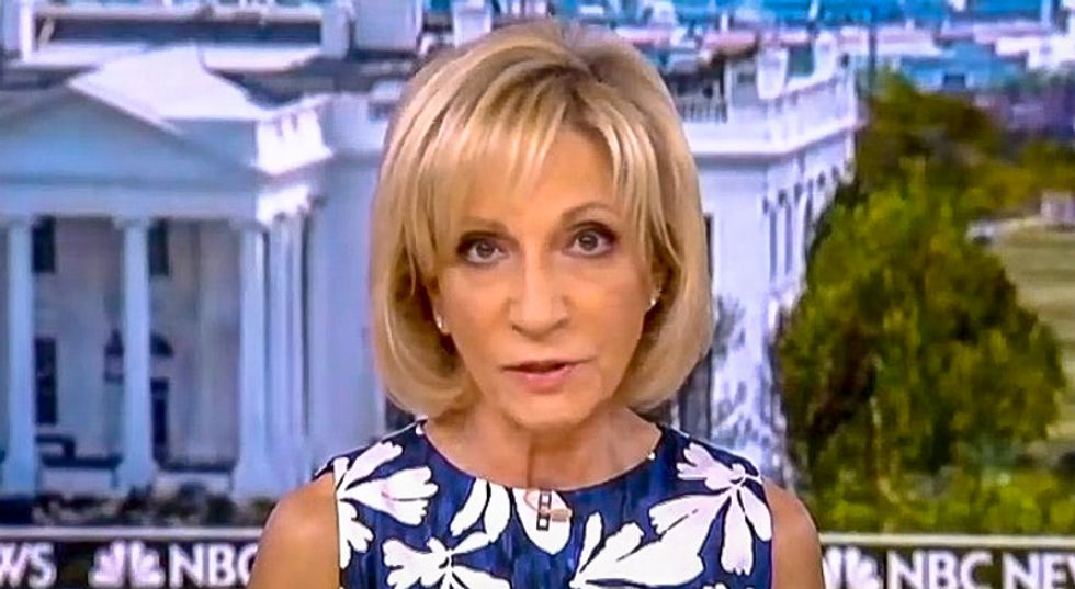 Andrea Mitchell hits Trump for claiming Russia backs Democrats: 'We're in serious Alice in Wonderland territory'