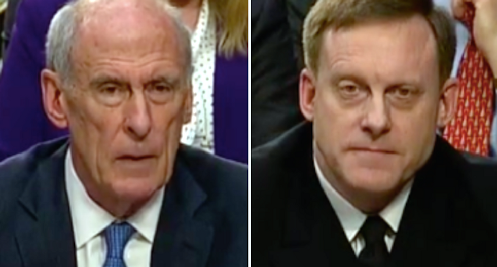 US intelligence chiefs say they did not feel pressured by Trump: CNN