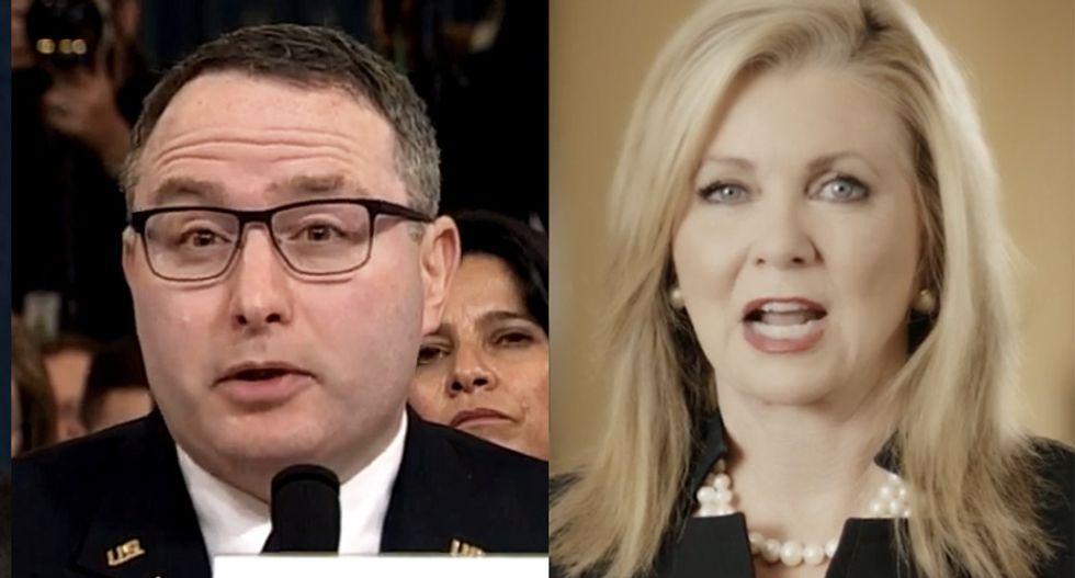Ex-ambassador flattens Republican Marsha Blackburn's attacks on Iraq veteran