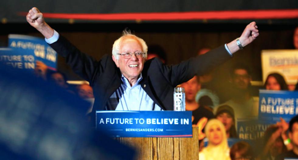 Bernie Sanders urges 'revolutionaries' to join him as California Democratic primary vote nears