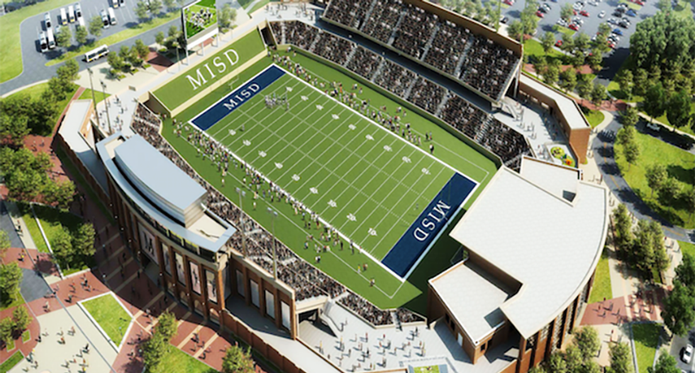Texas high school will build $62M football palace 4 miles away from rival's $60M football shrine