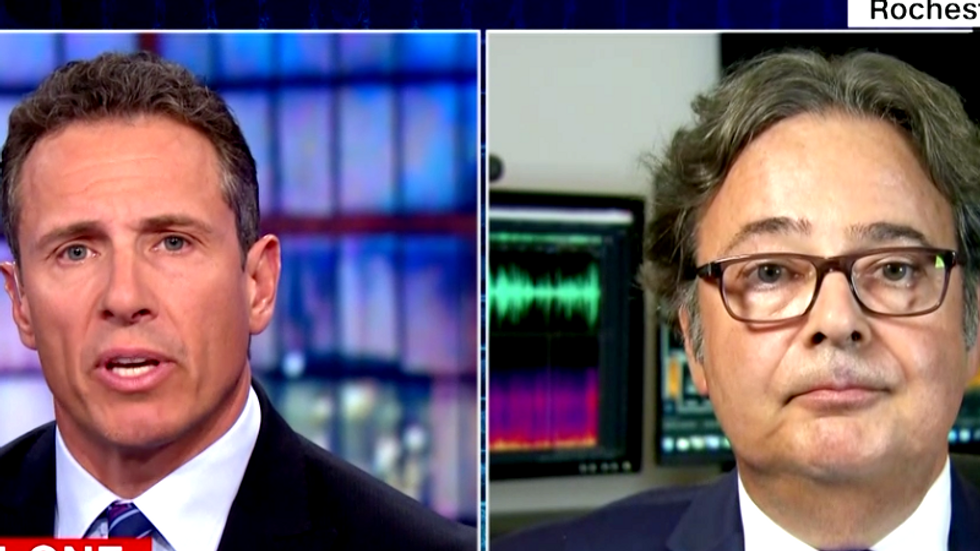 LISTEN: CNN's Chris Cuomo brings in forensic expert to analyze Trump-Cohen tape