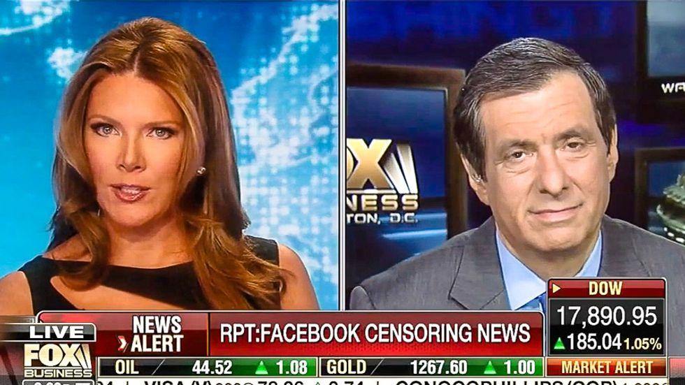 WATCH: Fox News pundits freak out over Facebook news 'slant' without a shred of self awareness
