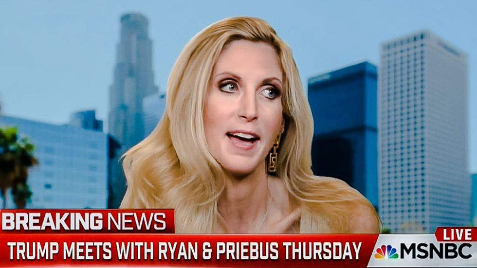 Ann Coulter calls on Trump to blow off GOP leaders: 'He is the party, he is the heart and soul'