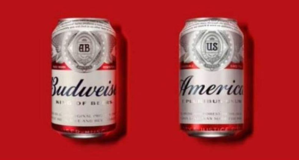 'America is weak, cheap, and tastes like pee': Twitter ridicules Budweiser's patriotic name change