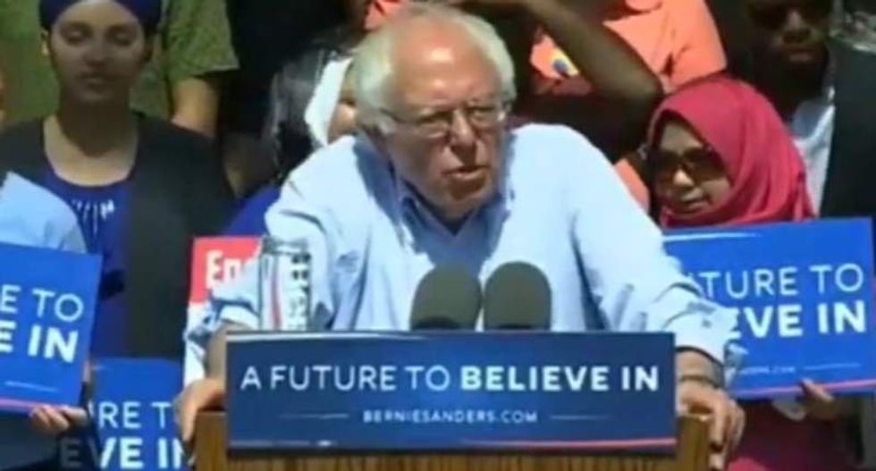 Bernie Sanders rips Trump amid West Virginia primary win: 'It is not enough' to just reject him
