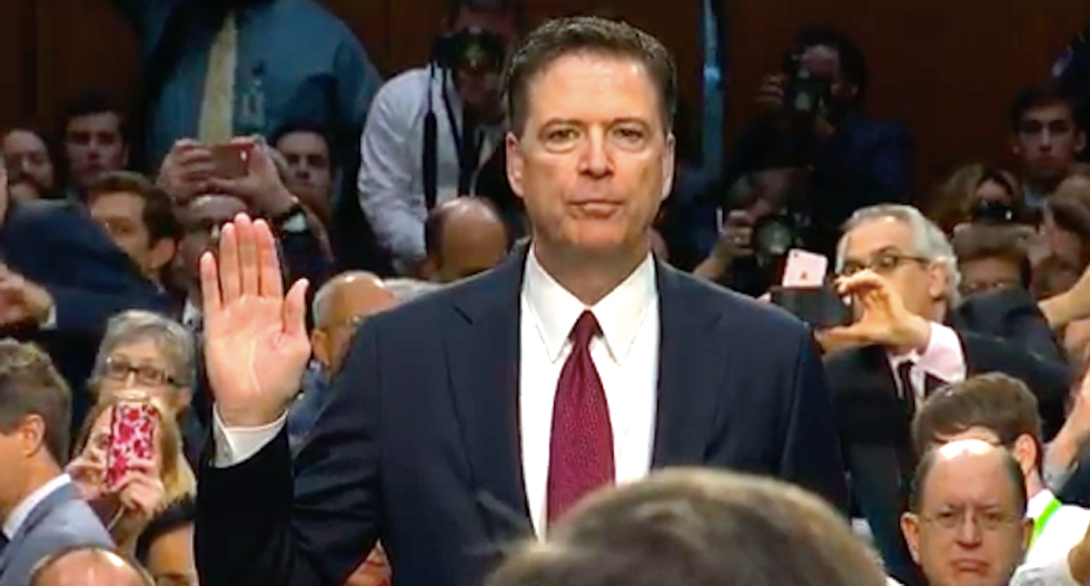'Lies, plain and simple': Comey slams Trump administration for 'defaming' FBI after his firing
