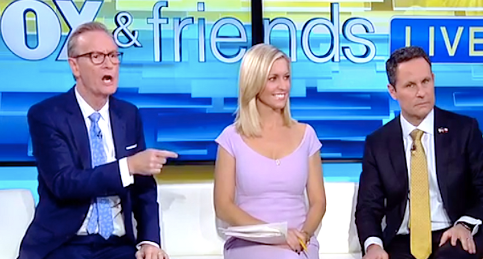 Fox & Friends sounds the alarm on 'politically correct' mall Santas who won't give children toy guns