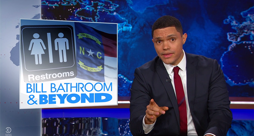 Trevor Noah shreds NC's fight to discriminate: 'You're willing to give up $2B over bathrooms?'