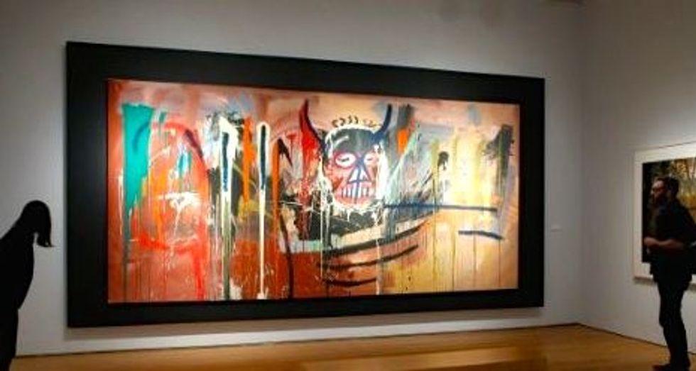 Basquiat portrait sells for $57.3 million