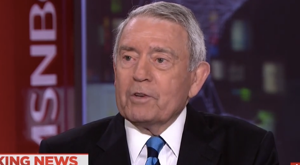 Legendary anchor Dan Rather on 'absolutely damning' Mueller report: 'There's never been anything like it'