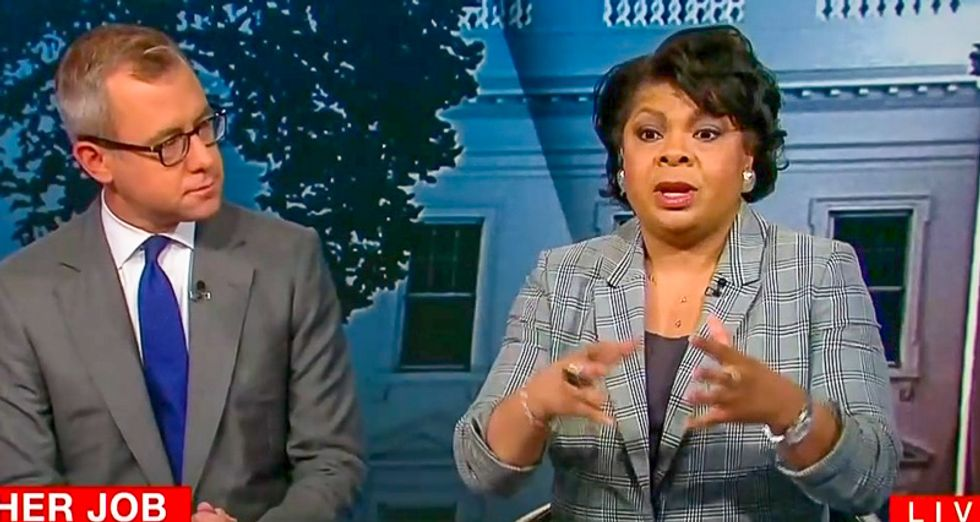 April Ryan reveals Trump banned White House reporter because 'he is upset' at Melania for watching CNN