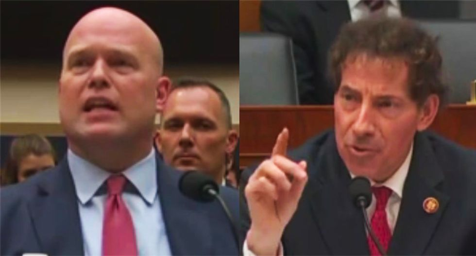 Whitaker hearing blows up after lawmaker asks him who was behind his mysterious $1.2 million payment from non-profit