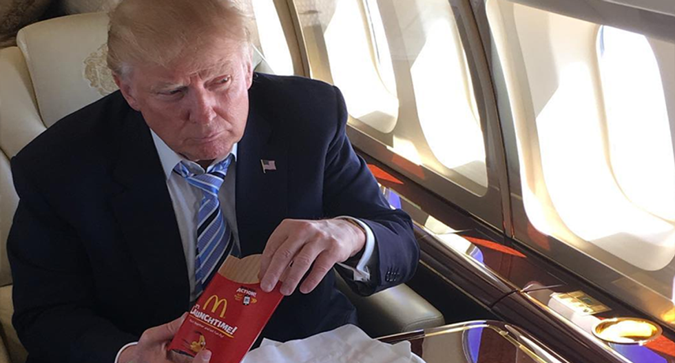 Trump demanded bodyguard go get McDonald's after White House chefs failed to recreate fast food
