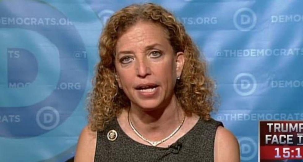 DNC chair Debbie Wasserman Schultz ducks questions on debating Sanders-backing opponent