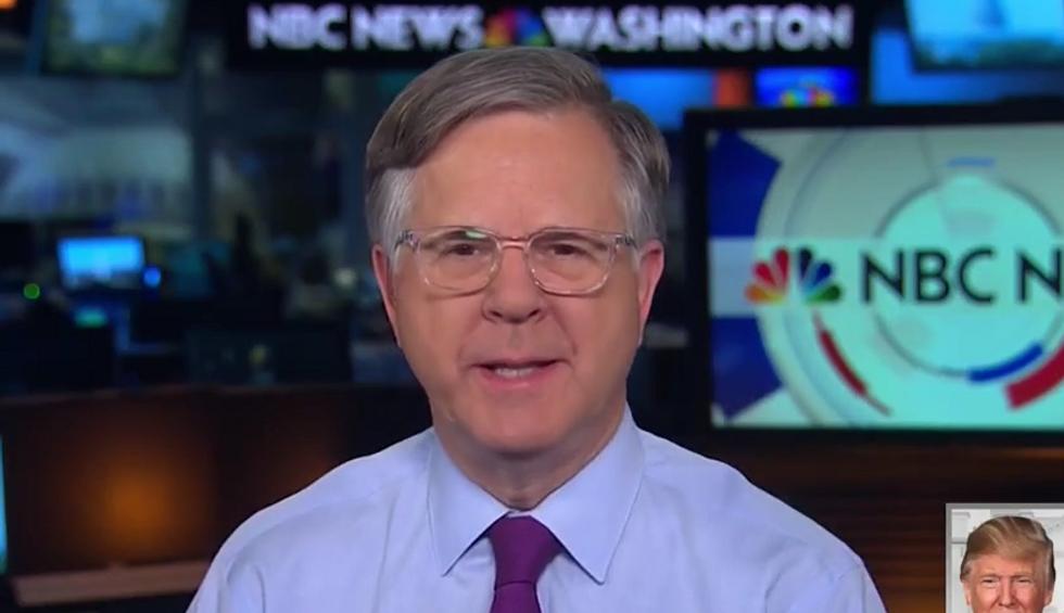 'Pretty weak tea': NBC's Pete Williams mocks Trump lawyer's threat against Comey