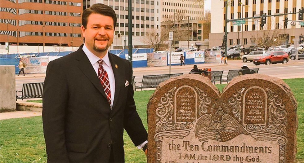 Arkansas lawmaker says reporter is as dangerous as a 'terrorist' for exposing his anti-Muslim Facebook posts
