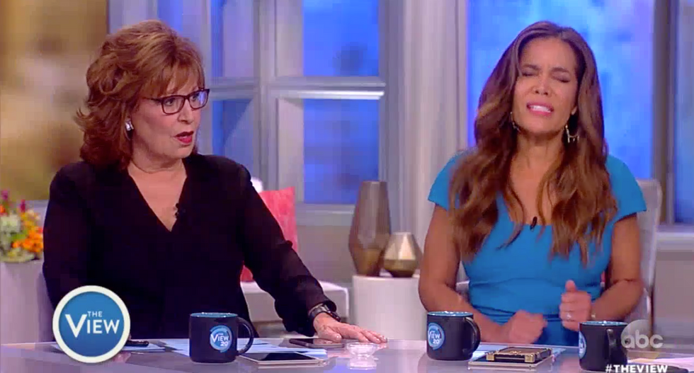 'Oh, of course there is!': The View smacks down co-host insisting there's no evidence Trump obstructed justice