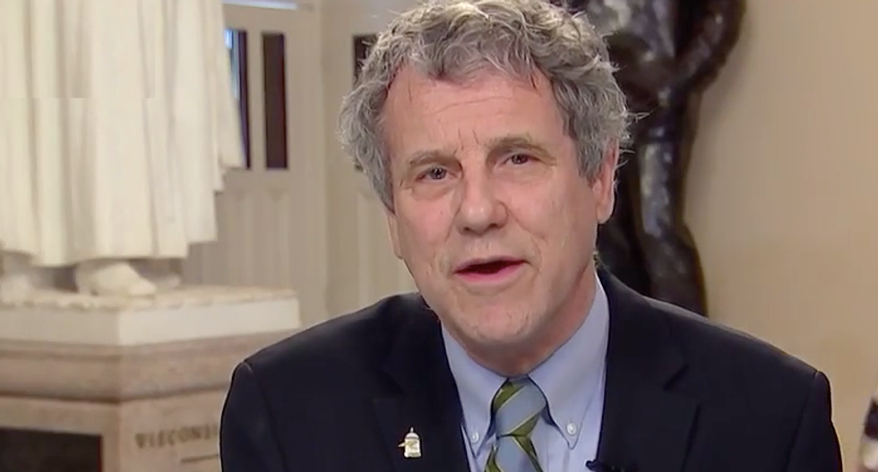 Sherrod Brown writes letter to the editor to blast New York Times op-ed saying Senate majority doesn't matter