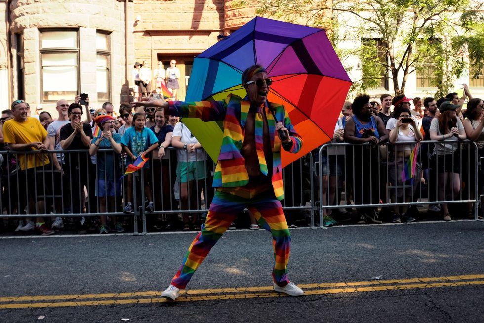 D.C. LGBTQ Pride parade draws thousands in spite of brief protester blockade