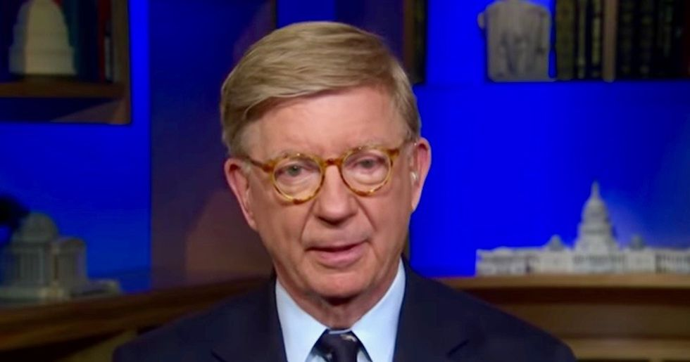 Conservative George Will destroys 'socialist' Trump for putting America on 'the road to serfdom'