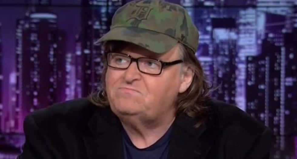 Michael Moore: Trump's birtherism 'ignited the fire of hate we have to put out'
