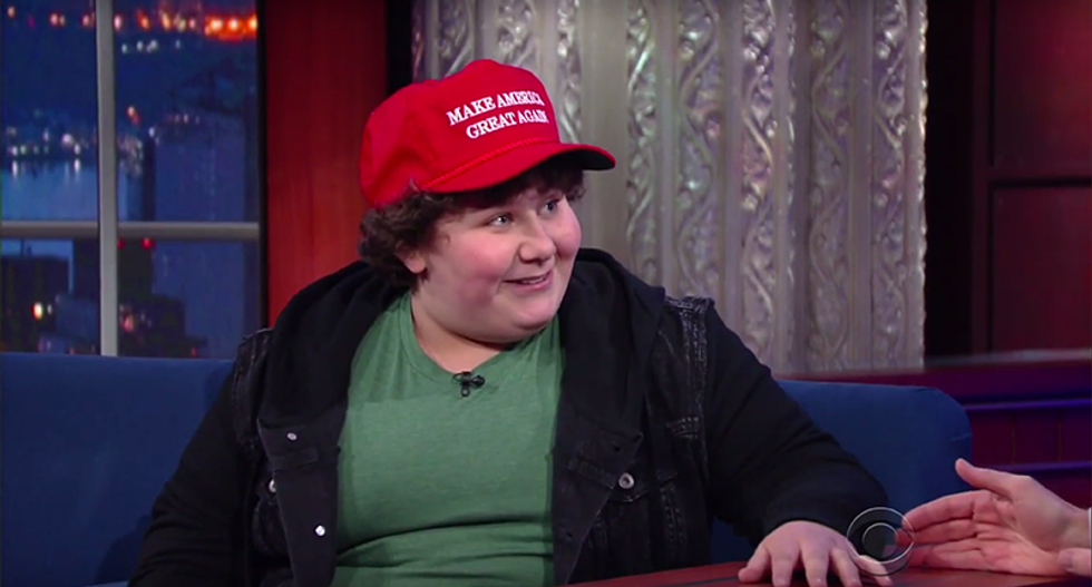 'Schoolyard bully' tells Stephen Colbert how Trump makes up cruel nicknames for opponents
