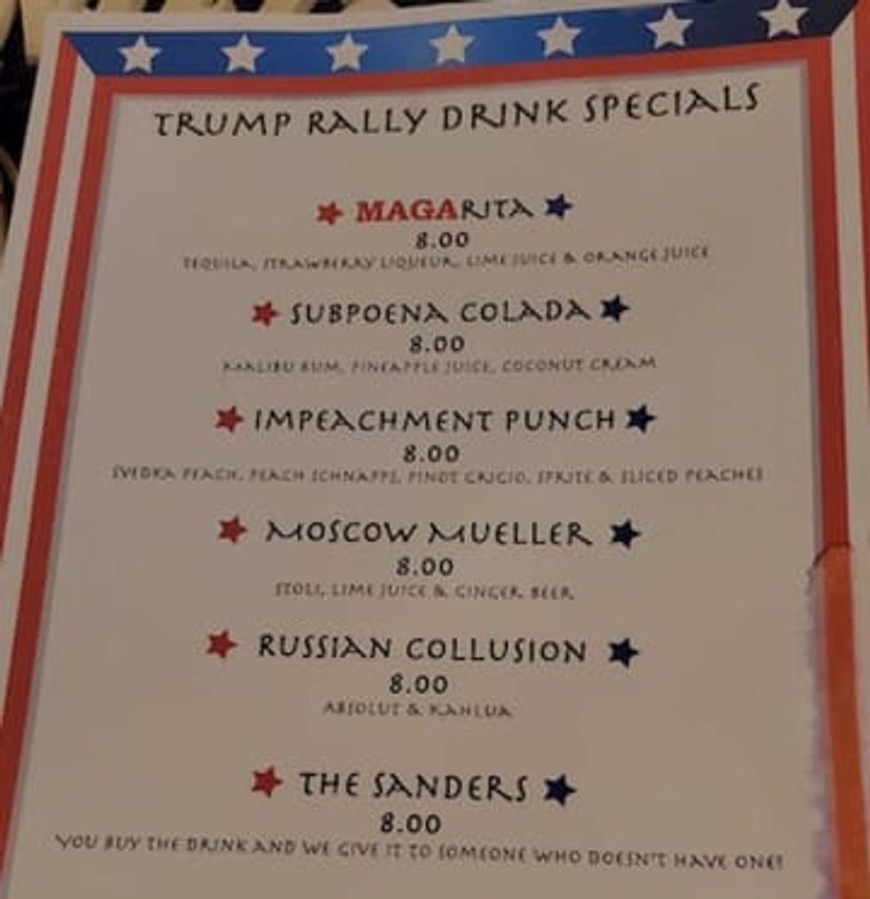 MAGA-ritas on the menu as Wildwood plays to Trump rally crowd