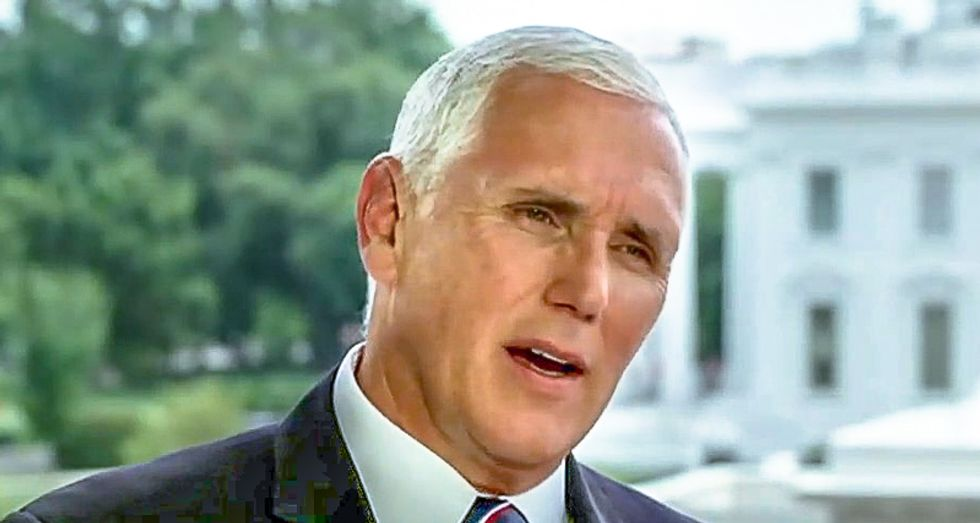 Mike Pence: The press should be free until they fail to 'maintain the decorum due at the White House'