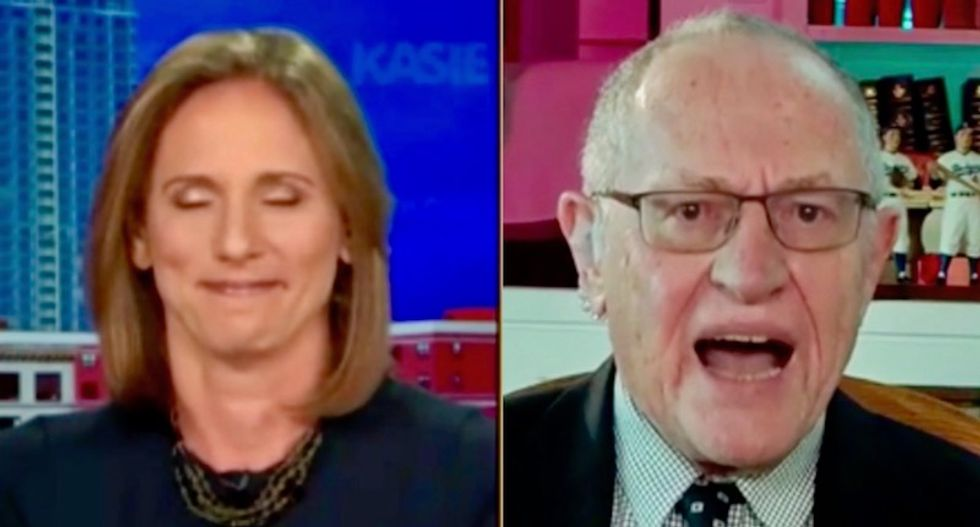 Ex-federal prosecutor can't stop smirking as Alan Dershowitz melts down and calls her a 'McCarthyite' on MSNBC