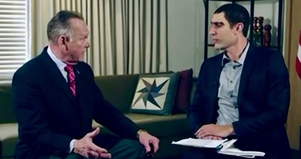 Watch Roy Moore get punked by Sacha Baron Cohen and his 'pedophile detector'