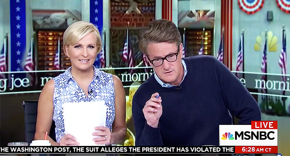 'It's like dealing with a five-year-old': MSNBC's Mika calls out Trump for 'lying' about Comey recordings