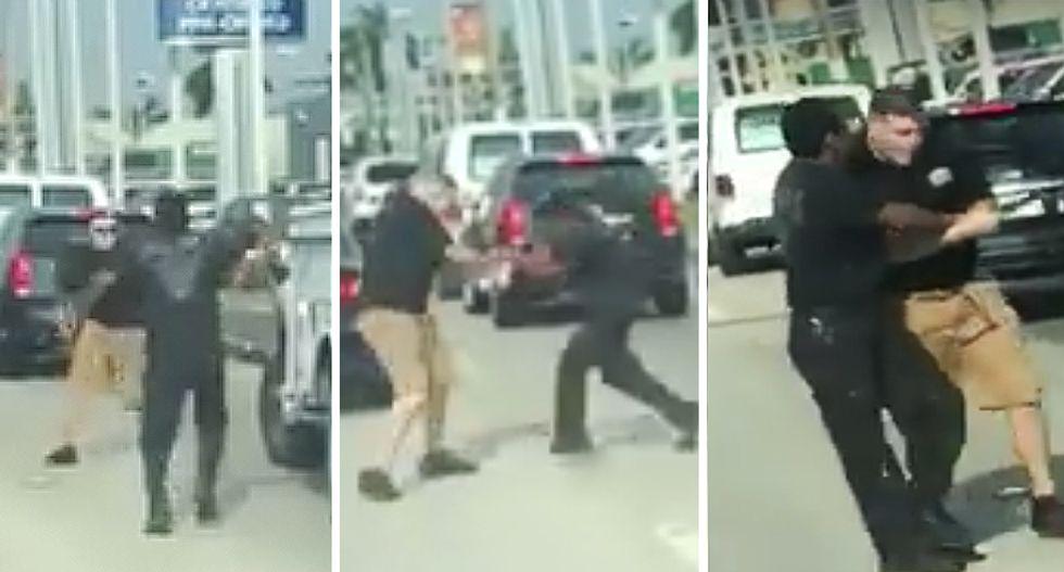 Bat-wielding man caught on video attacking driver in shocking Florida road rage video