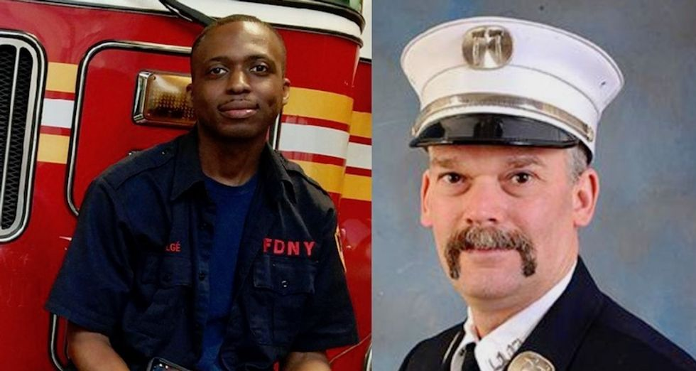Black 'hero' firefighter saved kids but was demoted after complaining about racist abuse and threats: lawsuit