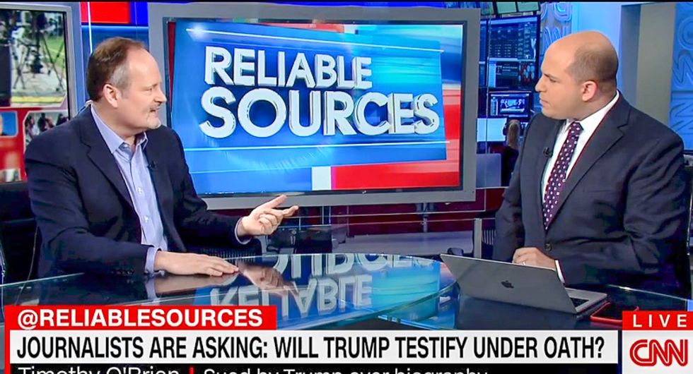 Biographer who caught Trump lying 30 times: He tried to 'intimidate' me by lying about taping conversations