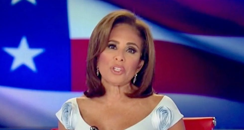 Fox News host Jeanine Pirro delivers unhinged rant about 'haters' who won't ignore Trump's 'wh*res and porn stars'