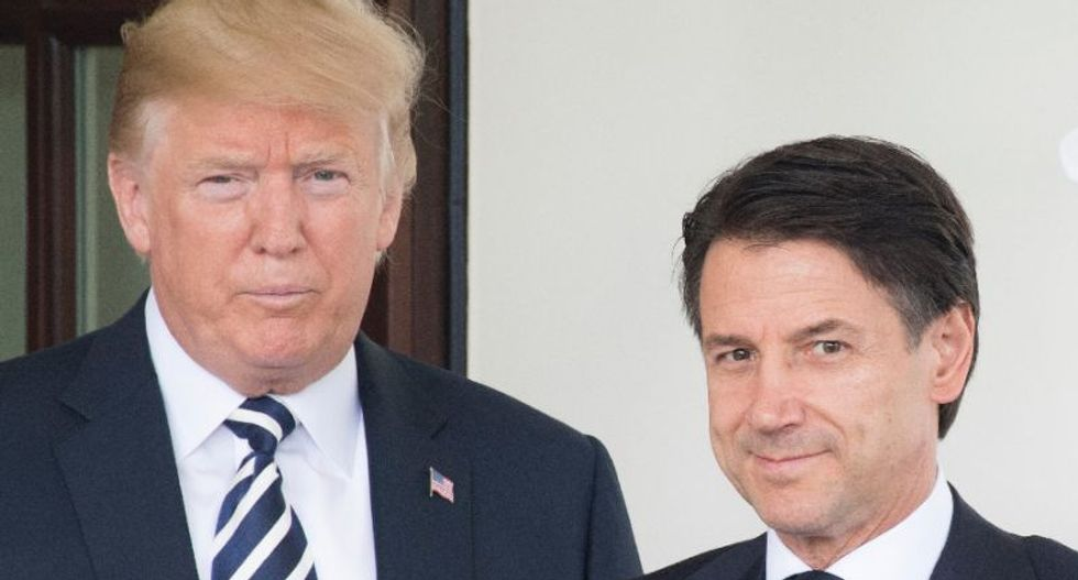 WATCH LIVE: Trump holds press conference with Italian prime minister