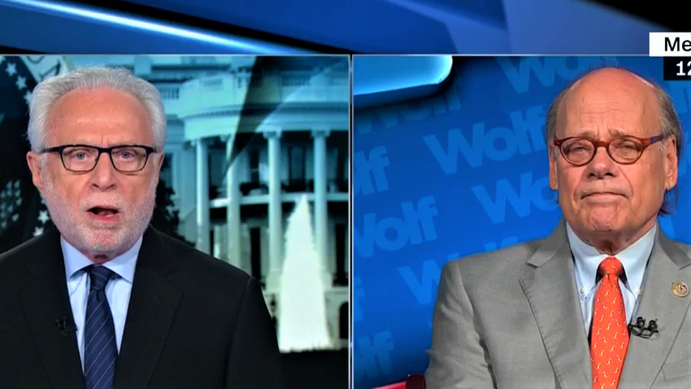 CNN's Wolf Blitzer stunned when Dem lawmaker predicts Mueller indictments for Trump Jr and Jared Kushner