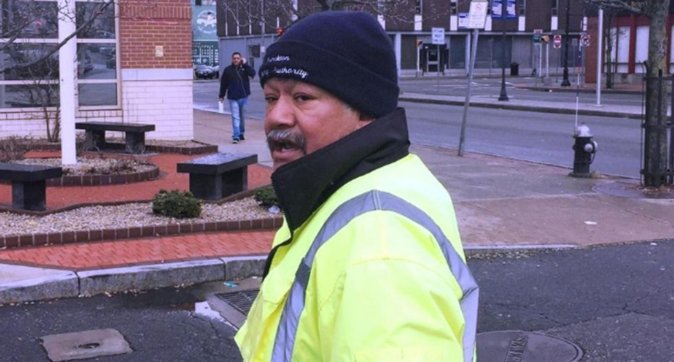 Parking officer calls one-legged black man the N-word as he tickets him for using a handicap space